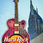 Hard Rock Cafe Nashville Art Print