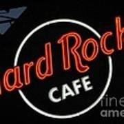 Hard Rock - St. Louis Art Print