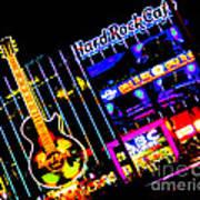 Hard Rock Vegas Art Print