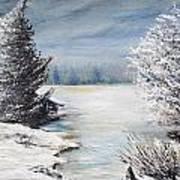 Hard Winter Art Print