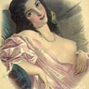 Harem Girl 1850 Art Print