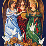 Hark The Herald Angels Sing Art Print