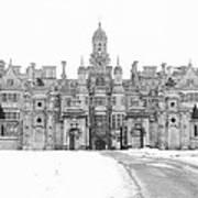 Harlaxton Manor Art Print
