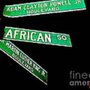 Harlem Crossroads Art Print