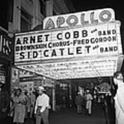 Harlem's Apollo Theater Art Print