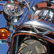 Harley Close Up Art Print