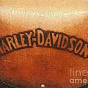 Harley Davidson Leather Tool Bag  Art Print