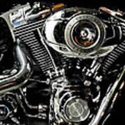 Harley Art Print by Joe Bonita