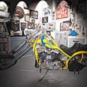 Harley Operating Room Art Print