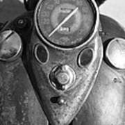 Harley Speedometer Art Print