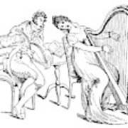 Harmony Before Matrimony, 1886 Art Print