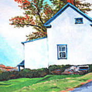 Harper's Ferry Hill House Art Print