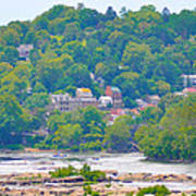 Harpers Ferry View Art Print