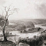 Harpers Ferry, West Virginia, From The History Of The United States, Vol. II, By Charles Mackay Art Print