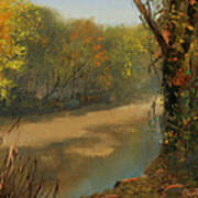 Harpeth At Carnton Print by Tommy Thompson