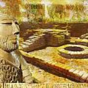 Harrappa Unesco World Heritage Site Art Print