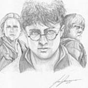 Harry And Friends Art Print