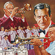 Harry James Trumpet Giant Art Print
