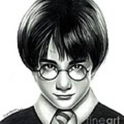 Harry Potter And The Philosopher's Stone Art Print