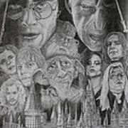 Harry Potter Montage Art Print by Mark Harris