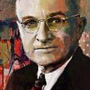 Harry S. Truman Art Print