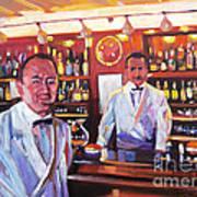 Harry's American Bar Art Print