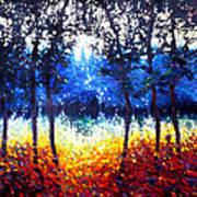 Hart Of The Magic Forest Art Print