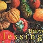 Harvest Blessings Art Print