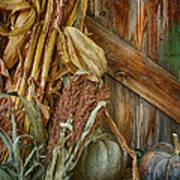 Harvest Corner Art Print