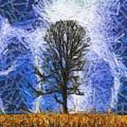 Harvest Storm Art Print