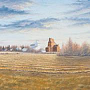 Harvest Sunrise Art Print