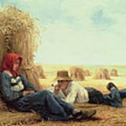 Harvest Time Art Print by Julien Dupre
