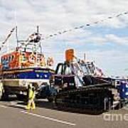 Hastings Lifeboat Art Print