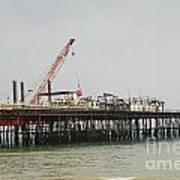 Hastings Pier Reconstruction Art Print