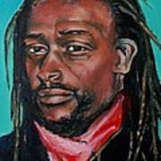 Hat Man - Portrait Art Print