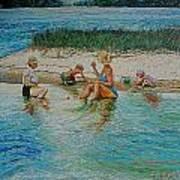 Hatchet Point Art Print