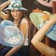 Hats Art Print