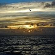 Hatteras Island Sunrise 2 9/10 Art Print
