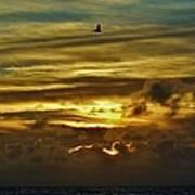 Hatteras Island Sunrise 3 9/10 Art Print