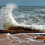 Hatteras Waves Art Print
