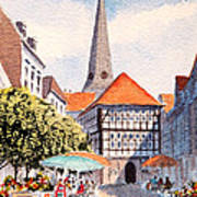 Hattingen Germany Art Print