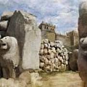 Hattusha The Hittite Capital Art Print