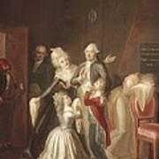 Hauer, Jean Jacques 1751-1829. Louis Art Print