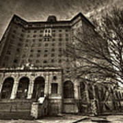 Haunted Baker Hotel Art Print