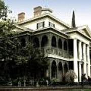 Haunted Mansion New Orleans Disneyland Art Print