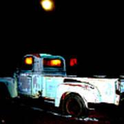 Haunted Truck Art Print