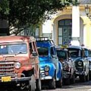 Havana 21 Art Print