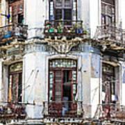 Havana Balconies Art Print