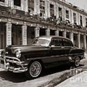 Havana Chevy Art Print
