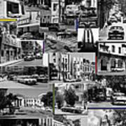 Havana Montage 3 Art Print